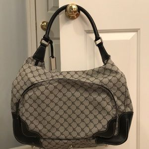 Ralph Lauren tote bag black and gray